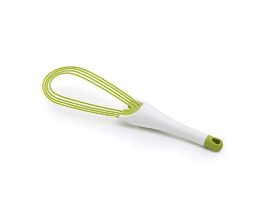 Joseph Joseph Twist Whisk folded in green
