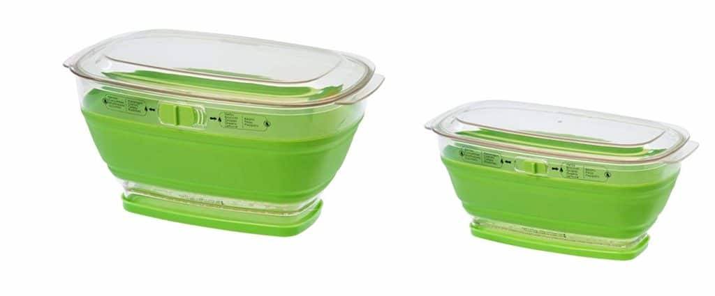 Prepworks both large four quart and small two quart containers