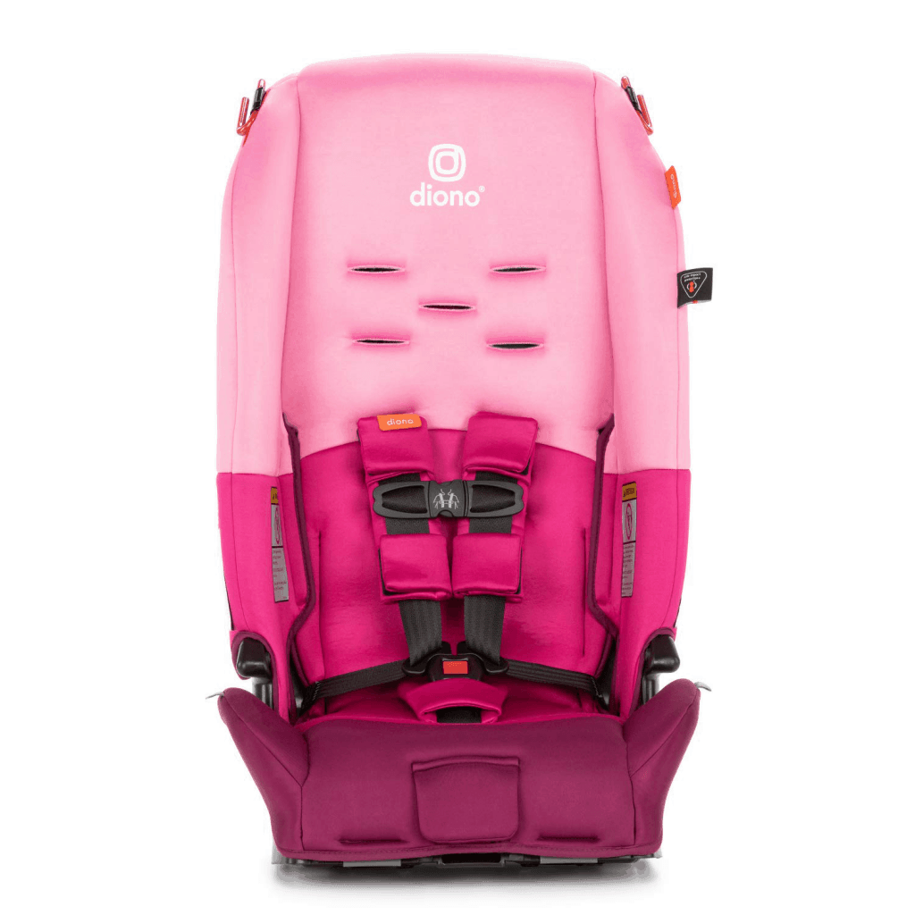 Diono Radian 3R in pink open front view
