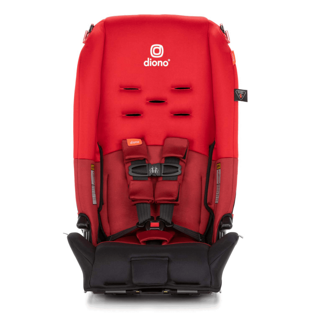 Diono Radian 3R in red open front view