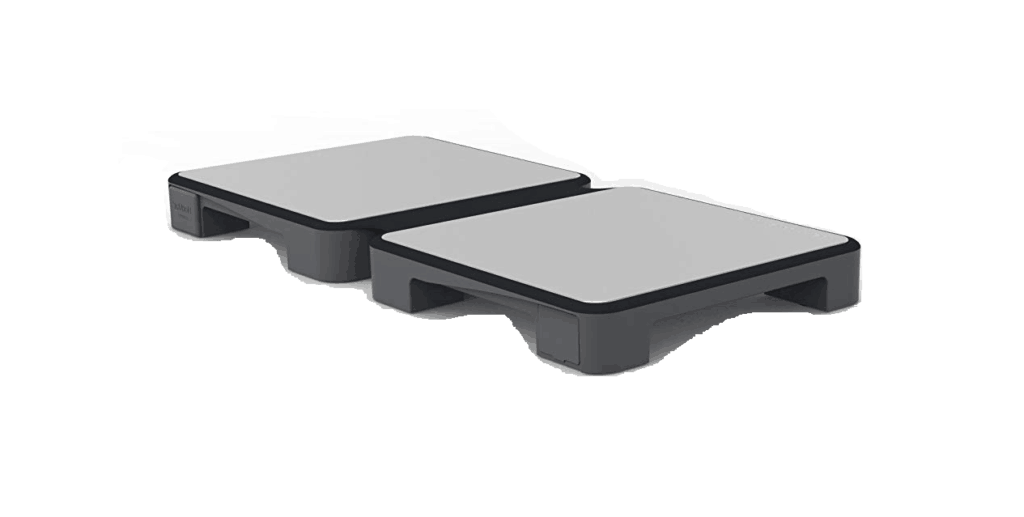 HotMat in grey open, one pair