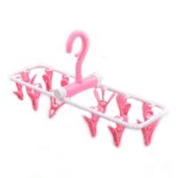Inoutdoorkit Hanger Rack in pink, open