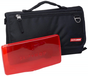 Pronto black folded and red wipes case