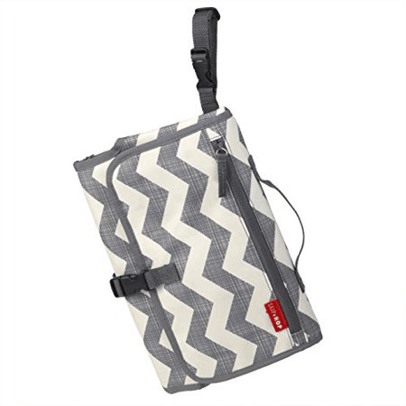 Pronto changing station in chevron folded suspended