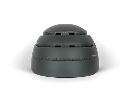 174Hudson-Stack foldable helmet open in onyx black