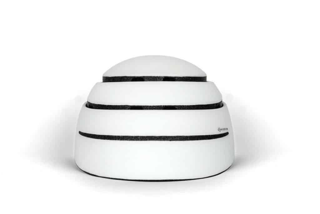 174Hudson-Stack foldable helmet open in white