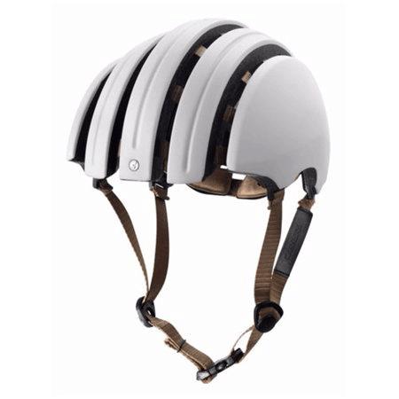 Carrera folding helmet in white open