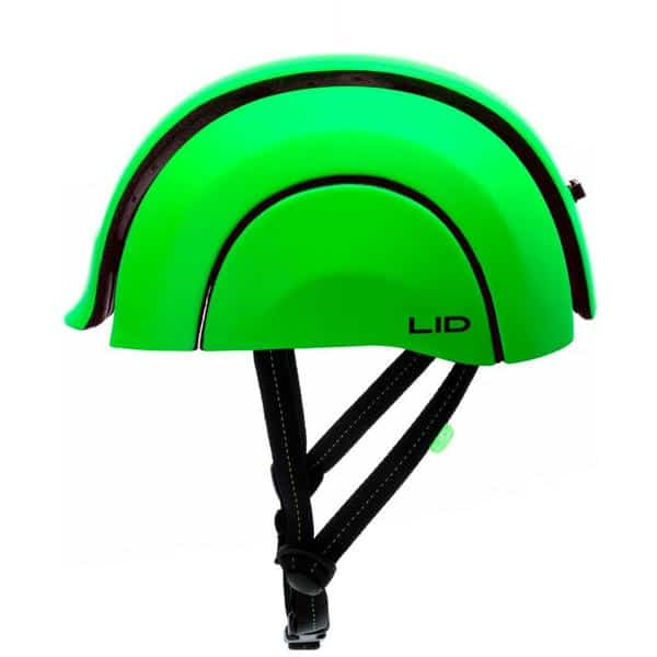 LID-Plico in london-lime-green open side view