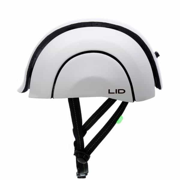LID-Plico in warsaw-white open side view