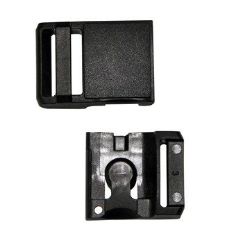 Fidlock-Snap-Helmet-Buckle in Black Separate Showing Latch