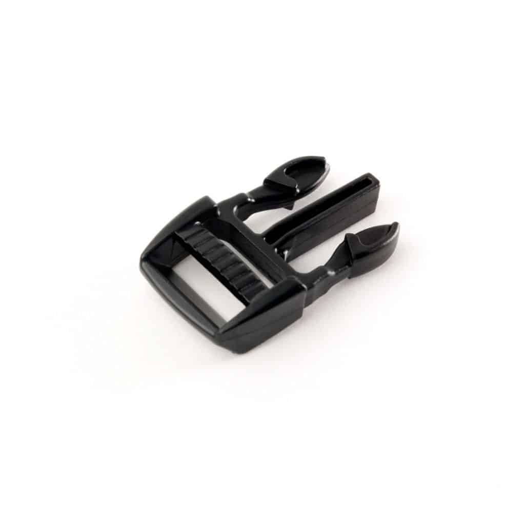 Fastex-Style Buckle Latch in Black