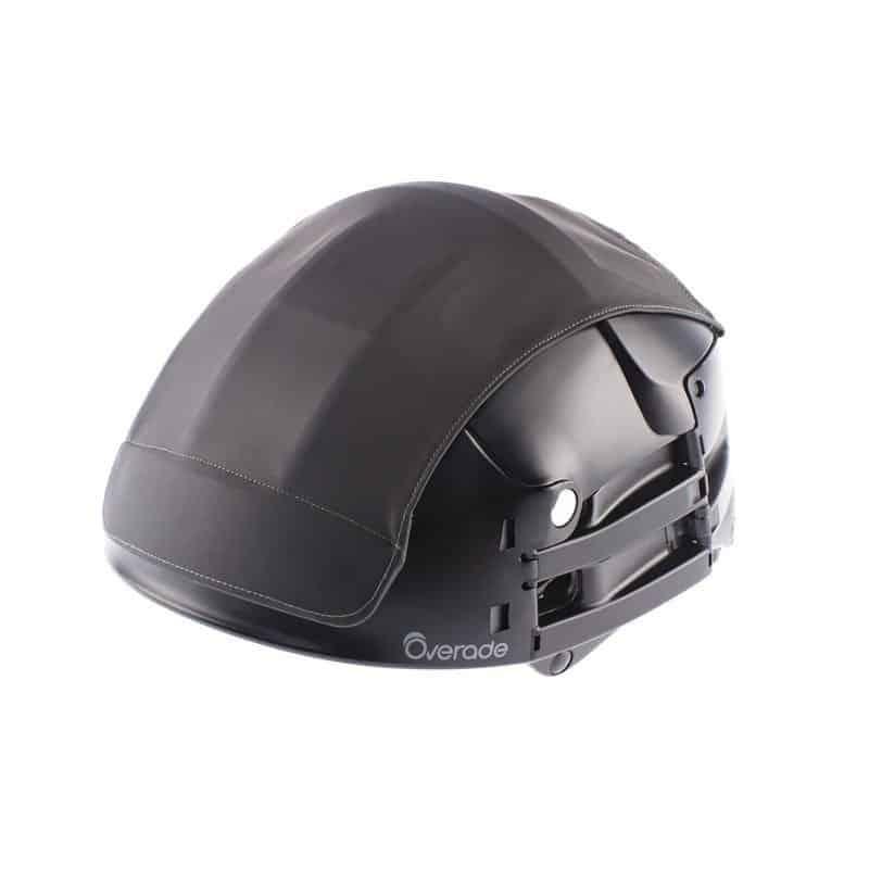 Overade Plixi in black with black helmet cover