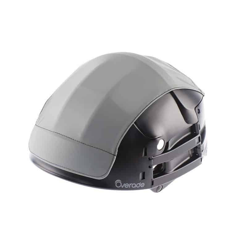 Overade Plixi in black with grey helmet cover