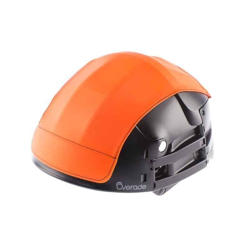 Overade Plixi in black with orange helmet cover