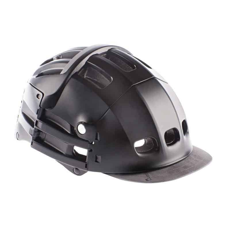 Overade Plixi in black with grey visor