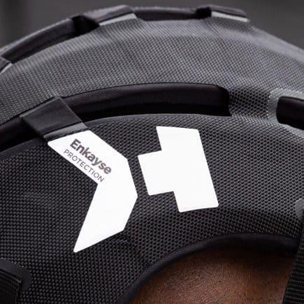 Hedkayse-One helmet in black side view
