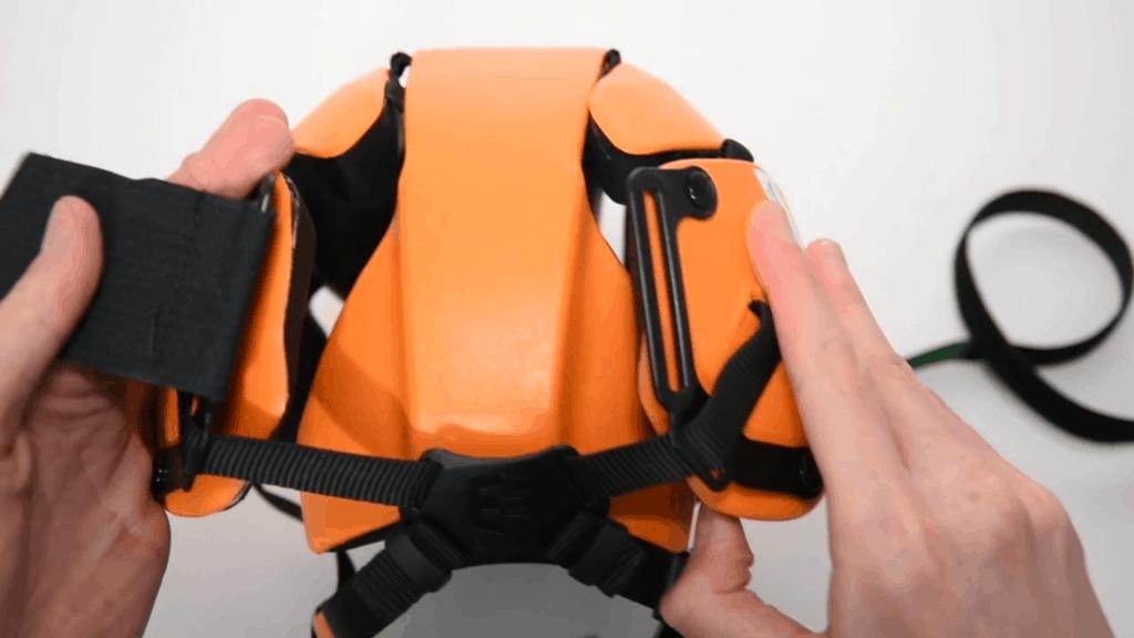 Hedkayse folding undoing strap